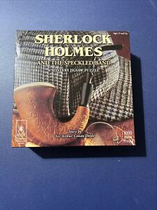 Sherlock Holmes and the Speckled Band: A Mystery Jigsaw Puzzle, 1000 Pieces