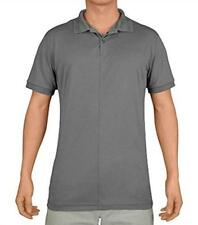 New Mens J. Lindeberg Rex Regular Fit Tx Jersey Polo Golf Shirt, Lt Grey,X-Large