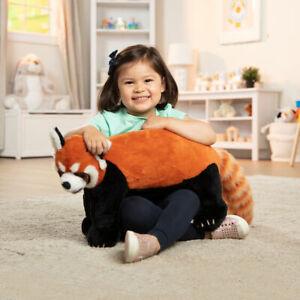 New & Sealed - Melissa & Doug: Plush Large Red Panda Bear