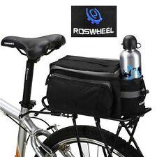 Cycling Bicycle Bike Pannier Rear Seat Bag Rack Trunk Shoulder Handbag Storage