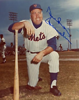 Duke Snider Signed / Autographed New York Mets Baseball 8x10 Photo