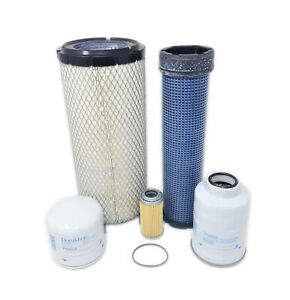 CFKIT Maintenance Filter Kit for/Kubota Excavators KX080-4  w/ Kubota V3307CRTE4