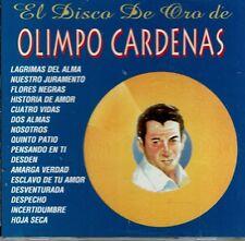 Olimpo Cardenas El Disco de Oro   BRAND  NEW SEALED  CD