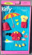 barbie KELLY Rainy Day Play FASHION AVENUE tenue accessoire 2001 Mattel 25754