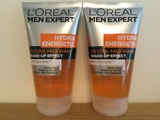 L'Oreal Men Expert Hydra Energetic Ice Cool Face Wash 2 x 150ml