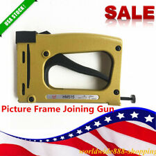 Sale Frame Joiner Nailer Picture Framing Tool Flexible Point Driver Stapler
