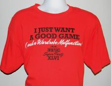 MENS TWIN PEAKS T SHIRT XL I JUST WANT A GAME & A WARDROBE MALFUNCTION