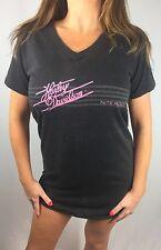 Vintage Women's M 80s Harley Davidson Nite Rider Motorcycle Sleep T-Shirt