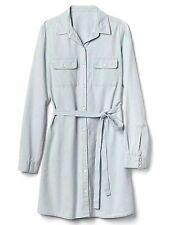 Gap Railroad stripe tie-belt denim shirtdress,Railroad Stripe SIZE S  #528498 v