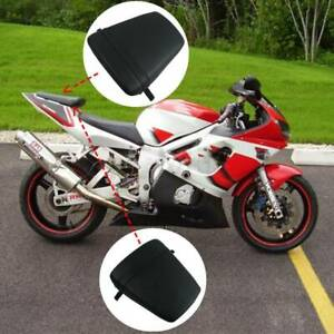 Black Rear Passenger Pillion Seat Fit For Yamaha YZF R6 YZF-R6 1998-2002 00 01