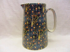 Heron Cross Pottery William Morris birds design 4 pint pitcher jug.
