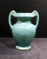 Zanesville Stoneware Company Seacrest Green Vase - 869- MINT