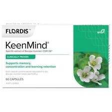 Flordis KeenMind for Brain Health (Bacopa) 60 Capsules