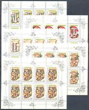Russia 1986 Mushrooms, 5 mini sheets MNH Sc # 5454-58 Mi # 5603-07 130.00 EURO