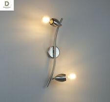 applique plafoniera design moderno cromo camera da letto salotto cucina bagno