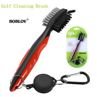 BOBLOV Golf Club Brush Accessories Aluminum Carabiner For Groove Shoes Cleaning