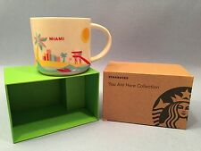 STARBUCKS MIAMI You Are Here Collection CUP MUG New in Box with SKU 14 oz.