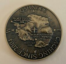 2007 Oshndoc Antarctica Geocoin