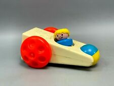 Vintage Fisher Price Toys Clatter 417 1975 | Rare Blue Little Man!