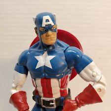 Marvel Legends Hasbro Captain America Cap Wolf Onslaught BAF Red Skull