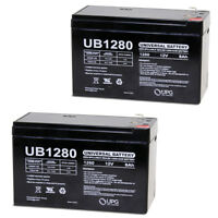 UPG 12V 8Ah SLA Battery Replacement for Shaoxing Huitong 6-DW-12 - 2 Pack