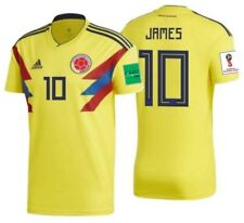 Adidas Columbia jersey 10 James Rodriguez WC 2014 Home