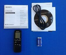 Sony ICD PX312 Handheld Portable Voice Recorder Micro SD Slot USB Digital Flash