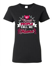 Ladies My Favorite People Call Me Mama Mother Mommy Gift Funny DT T-Shirt Tee