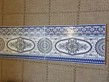 Traditional design Genuine Moroccan 3D Tiles 40x25cm Ceramic (SET OF 2)