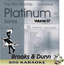 Top Hits Monthly Platinum THMPL07 Brooks & Dunn 18 Song Karaoke CD+G kareoke cdg
