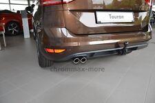 Chrom VW Touran II Auspuffblende Baujahr ab 2016 > aus Edelstahl