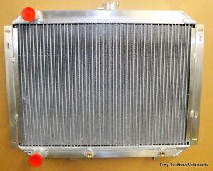 "Be Cool 62263 Custom-Fit Alum Radiator, 1967-70 Ford Mustang, 26""x 20"","