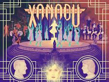 XANADU 18x24 screen print Xul1349 Olivia Newton-John Beck Kelly - not Mondo