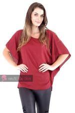 Maglie e camicie da donna rosso camicetta senza maniche