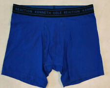 NEW 1 PAIR KENNETH COLE REACTION MENS BOXER BRIEFS SIZE S BLUE TAGLESS