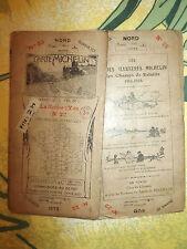 Carte michelin 48 feuilles avant 1923 22 la roche sur yon 3eme edition