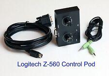 Logitech Z-560 Computer Lautsprecher Control Pod Ersatz Neu schwarze Version Z 560