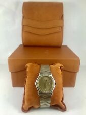 Ladies Ebel  Wave Sport Classic Watch With RARE Champagne dial and 48 diamonds