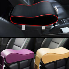 1x PU Leather Car SUV Armrest Box Mats Console Universal Pad Liner Cushion Cover