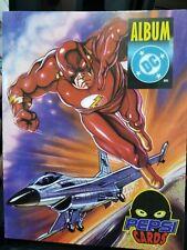 DC Pepsi Cards Album Mexico Spanish Ed Rare Comics Superman Batman Flash Jocker