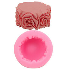 Pop Rose Cylindrical Soap Mould Candle Mold Creative Cake Baking Mold