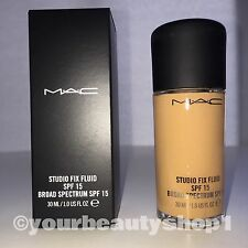 New Mac Foundation Studio Fix Fluid Foundation  SPF 15 NW35 100% Authentic