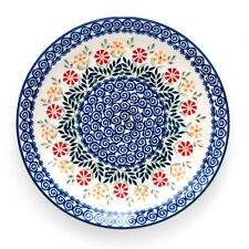 Bunzlauer Keramik Speiseteller, Essteller 26cm Dekor JS14 Handarbeit Neu