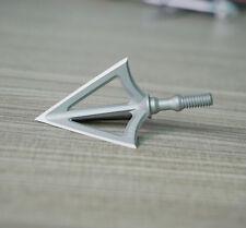 HQ 10pcs G5 MONTEC Hunting Broadhead 100 grain stainless steel archery head tips