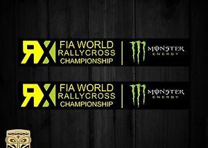 Aufkleber Decal Sticker Autocollant Adesivi Aufkleber Fia World Rallycross