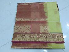 Ivory Silk Cotton Saree Full Jari Grand PalluSaree(New With Defect)MRP2800 Saree