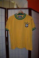 Brazil 1971-1973 retro vintage football shirt by Heringol (#18)