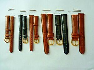 bracelets montre en cuir + barettes offertes