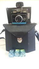 Polaroid Colorpack II Land Camera with Cubes & Bag Case Untested For Parts Only