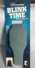 Lootcrate Blink Time Grey Stealth Wrist Watch Loot Crate Silicone Strap & Body